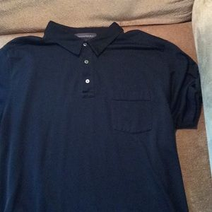 JZPSBK11- Casual Black Polo Shirt